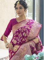 Weaving Sangeet Traditional Designer Saree