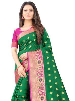 Weaving Silk Designer Traditional Saree