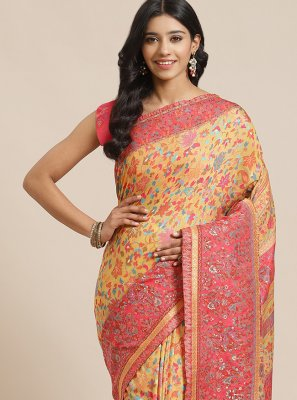 Weaving Silk Designer Traditional Saree in Multi Colour