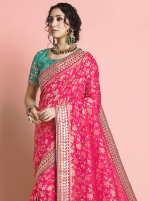 Weaving Silk Traditional Designer Saree