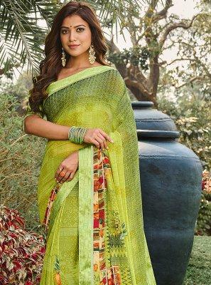 Weight Less Printed Saree