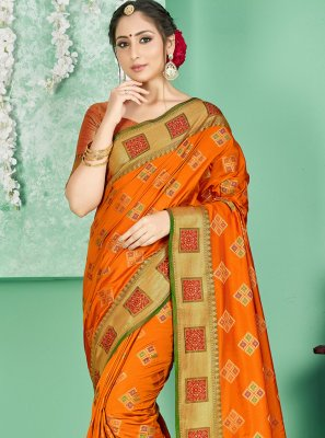 Woven Art Banarasi Silk Traditional Designer Saree