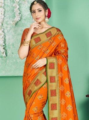 Woven Art Banarasi Silk Traditional Designer Saree