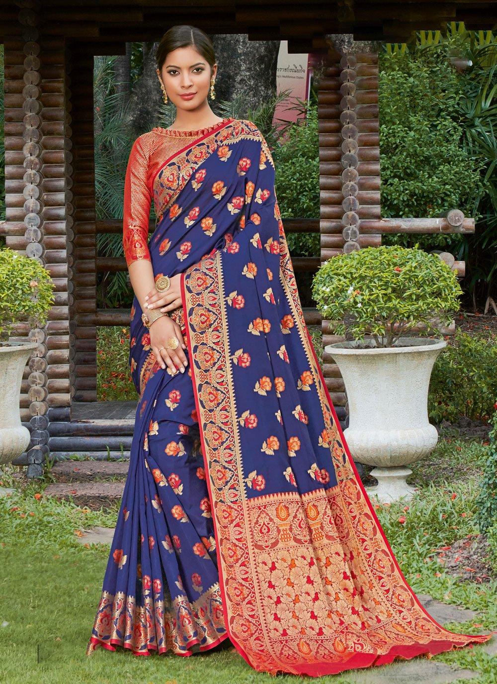 Woven Ceremonial Traditional Designer Saree
