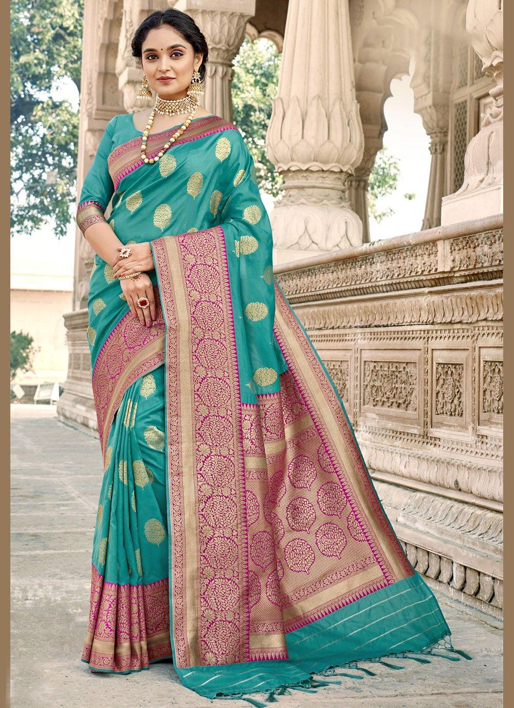 Woven Designer Saree