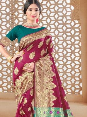 Woven Festival Traditional Designer Saree