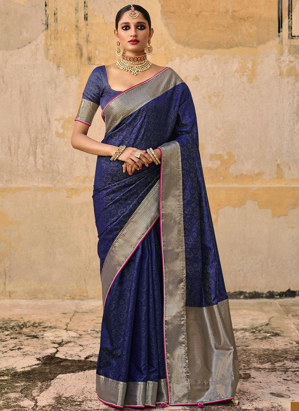 Woven Festival Traditional Saree