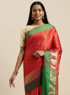 Woven Handloom silk Designer Traditional Saree