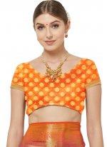 Woven Hot Pink Banarasi Silk Traditional Designer Saree