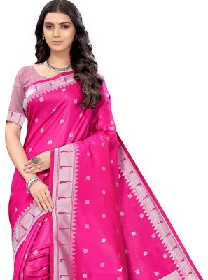 Woven Silk Classic Saree