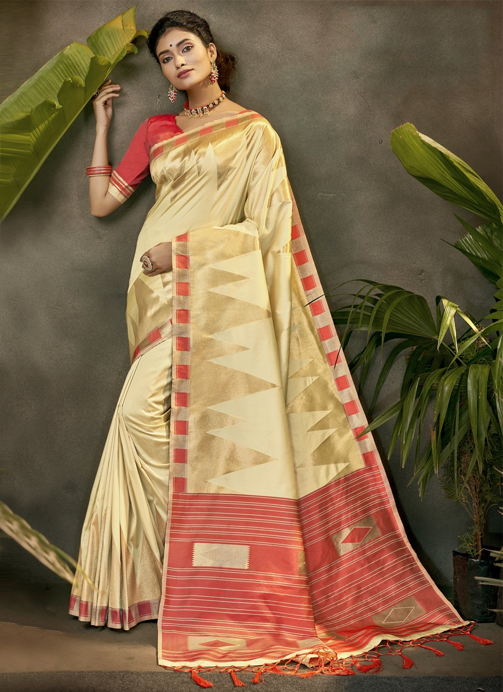 Woven Silk Designer Traditional Saree