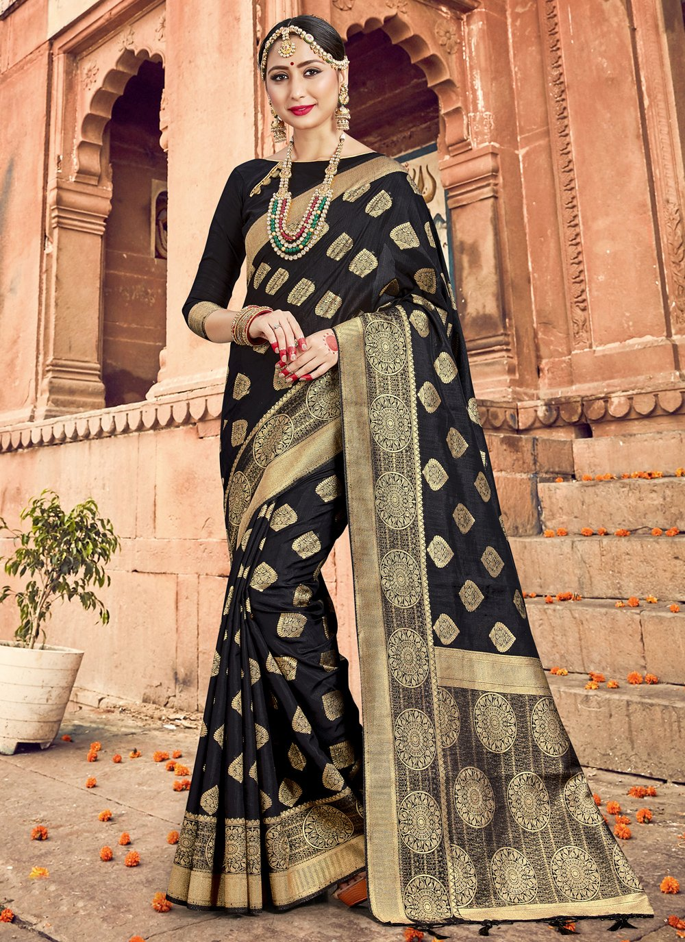Woven Traditional Designer Saree