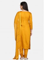 Yellow Designer Suit