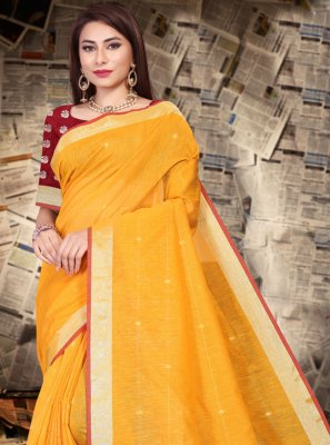 Yellow Festival Bollywood Saree