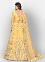 Yellow Mehndi Lehenga Choli