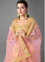 Yellow Reception Bollywood Lehenga Choli