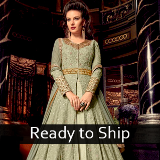 Ready to Ship Collection of Sarees, Salwar Suits & Lehenga Cholis
