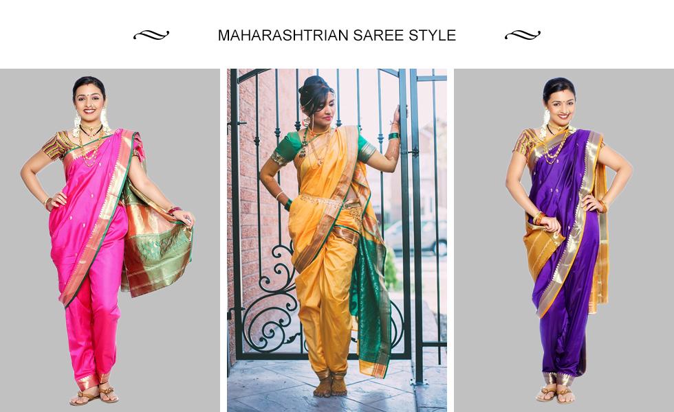 Maharashtrian Saree Style